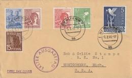 Allemagne - FDC 1946 - Gemeinschaftsausgaben