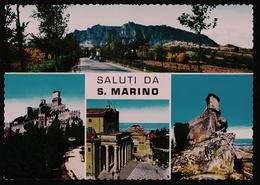 San Marino  Mehrbild-Ansichtskarte Ca. 1960    (11178) - San Marino