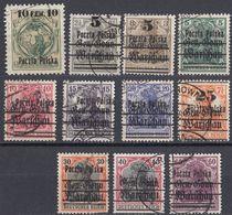 POLSKA - POLONIA - 1918 - Lotto Di 11 Valori Diversi Usati: Yvert 2 E 6/15 - Used Stamps
