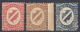 INGRIA - 1920 - Lotto Di 3 Valori Nuovi MNH: Yvert 2, 3 E 4. - Finlandia