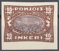 INGRIA - 1920 - Yvert 14 Nuovo Senza Linguella, Non Dentellato. - Finland