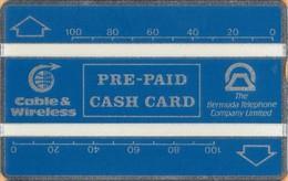 Bermuda - BER-0023, L&G, C&W, Blue 200 - 210A, 200 Units, 2,500ex, 10/92, Mint - Bermuda