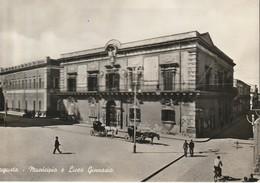 Augusta - Municipio E Liceo Ginnasio - Autres Villes
