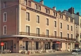 """/ CPSM FRANCE 71 """"Chalon Sur Saone, Hôtel De La Gare"""" - Chalon Sur Saone"""