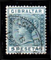 Gibilterra-064 - Emissione 1889 - Senza Difetti Occulti. - Gibilterra