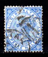Gibilterra-065 - Emissione 1886 - Senza Difetti Occulti. - Gibilterra