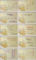 LOT De 10 Télécartes Japon / 110-166 - EVENTAIL - FAN Japan Phonecards -  FÄCHER - ABANICO - Tarjeta Tel. - MD 4317 - Japón