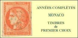 Monaco, Année Complète 1943, N° 249 à N° 264** Y Et T - Monaco