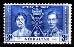 Gibilterra-076 - Emissione 1937 - Senza Difetti Occulti. - Gibilterra