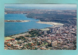 Small Post Card Of Perth, Western Australia, Australia,V103. - Perth