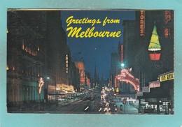 Small Post Card Of Melbourne, Victoria, Australia,V103. - Melbourne
