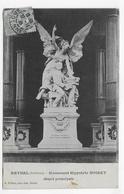 RETHEL EN 1906 - MONUMENT HIPPOLYTE NOIRET - BEAU CACHET - CPA VOYAGEE - Rethel