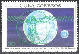 CUBA 1970, LEONARDO DA VINCI, WORLD DAY Of TELECOMMUNICATIONS, COMPLETE, MNH SET In GOOD QUALITY, *** - Cuba