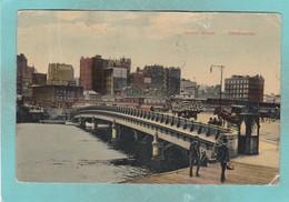 Small Post Card Of Queens Bridge,Melbourne, Victoria, Australia,V103. - Melbourne