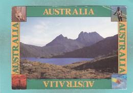Small Post Card Of Cradle Mountain,Tasmania, Australia,V103. - Sonstige