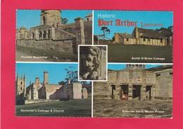 Modern Multi View Post Card Of Port Arthur, Tasmania,Australia.D22. - Port Arthur