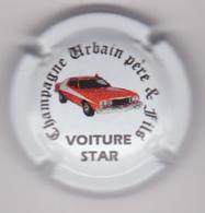 Capsule Champagne URBAIN P&F ( Nr ; Voiture Star , Starsky Et Hutch , Fond Blanc ) Nouvelle {S26-19} - Champagne