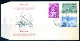 (B) 1195/1197 FDC 1961 - België En EURATOM Te Mol. - 1961-70