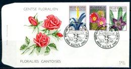 (B) 1315/1317 FDC 1965 - Gentse Floraliën III - FDC