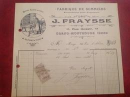 Fraysse Grand Montrouge Sommier Tapissier - Francia