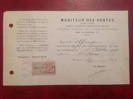 Paris Moniteur Des Ventes Mobilières - France