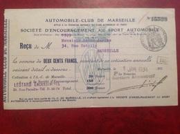 Automobile Club De Marseille Sport - France