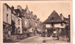56 - Morbihan - ROCHEFORT En TERRE - Place Du Puits - Rochefort En Terre