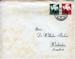 GERMANY 1936 REICHSPARTEITAG NURNBERG POSTMARK - Briefe U. Dokumente