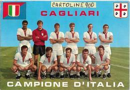 Calcio Sardegna Cagliari Squadra Di Calcio Del Cagliari Campione D'italia - Calcio