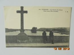 Vernon. La Croix Du Pont. Vue Vers L'Ile Corday. CM 44 Dated 1925. - Vernon