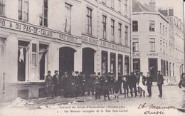 M5  ARMENTIERES                                  Les Maisons Saccagees De La Rue Sadi Carnot                    Timbree - Armentieres