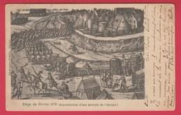 Binche ... Siège De Binche En 1578, D'après Gravure D'époque - 1900 ( Voir Verso ) - Binche