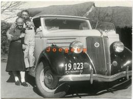 Photo Family On Car Automovil Argentina - Automobili