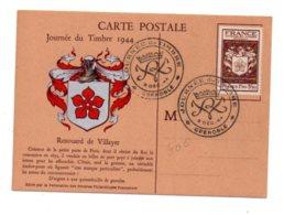 Journée Du Timbre 1944-Grenoble- Voir état - FDC