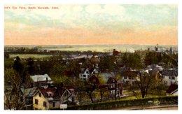 Connecticut South Norwalk , Aerial View - Norwalk