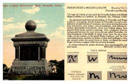 Connecticut  East  Norwalk  Roger Ludlow Monument - Norwalk