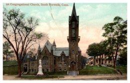 Connecticut South Norwalk ,Congregational Church - Norwalk