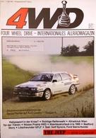 CA214 Zeitschrift 4WD Four Wheel Drive, Nr. 4/1986, Deutsch, Neuw., Audi Quattro - Auto & Verkehr