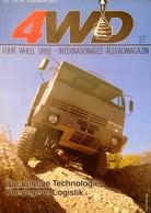 CA215 Zeitschrift 4WD Four Wheel Drive, Nr. 5/1986, Deutsch, Steyr, Neuwertig - Automóviles & Transporte