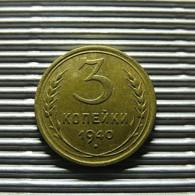Russia 3 Kopeks 1940 - Russia