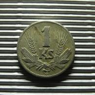 Slovakia 1 Koruna 1940 - Slovaquie