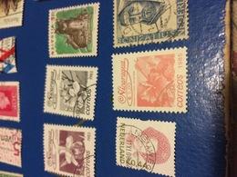 NICARAGUA FIORI ROSSO - Postzegels