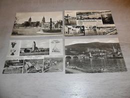 Lot De 60 Cartes Postales D' Allemagne Deutschland CPSM Petit Format   Lot Van 60 Postkaarten  Duitsland Klein Formaat - Cartes Postales
