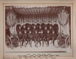 FONTAINEBLEAU : école D'application : 2é Division - 1é Brigade ( 1894 ) Avec Sabres Et Pistolets Et Conons - Oorlog, Militair