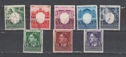 Allemagne ~ Pologne Gouvernement General  1943 N° 123 à 130 Oblitéré  (8 Valeurs ) Série Compléte - 1939-44: 2. WK