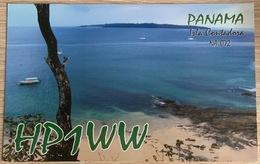 Qsl Card PANAMA Isla Contadora In The Pearl Islands Amateur Radio Card From 2012 - Amateurfunk