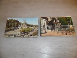 Lot De 100 Cartes Postales De France  Lourdes  CPSM Petit Format    Lot Van 100 Postkaarten Van Frankrijk  Lourdes - Postales