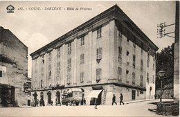 HOTEL DE PROVENCE   ARRIVEE DU CAR - Sartene