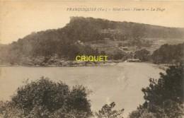 83 Pramousquier, Hotel Croix-Fleurie, La Plage, Carte Pas Courante - Other Municipalities