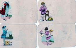 ILLUSTRATEUR SUSIE - Images Porte Bonheur - Le Chat Noir - Künstlerkarten